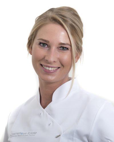 Huidtherapeut Amanda Tromp
